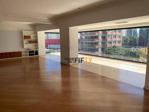 Apartamento Para Alugar, 276 M² Por R$ 20.000,00/mês - Itaim Bibi - São Paulo/sp - Ap42307