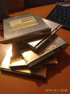 5 Lectores Dvd De Notebook Diferentes Marcas Usados