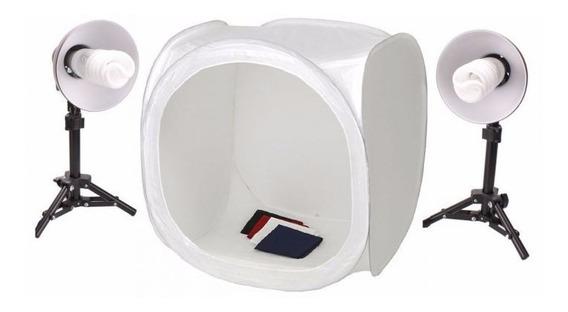 Mini Estudio Tenda Estudio Greika St-07 110v 40x40 C/ Nf