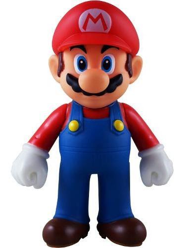 Boneco Mario Action Figure Super Mario Bros Nintendo Origina