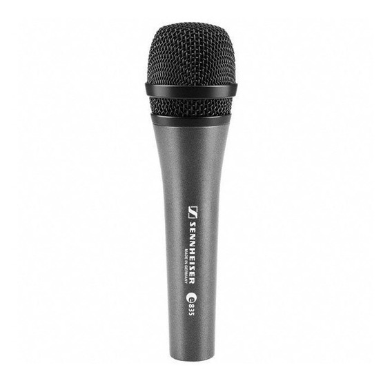 Microfone Sennheiser E835 Germany Original + Brindes