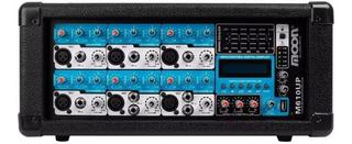 Moon Consola Potenciada M610 Up Usb Bt 100 Watts Musicapilar