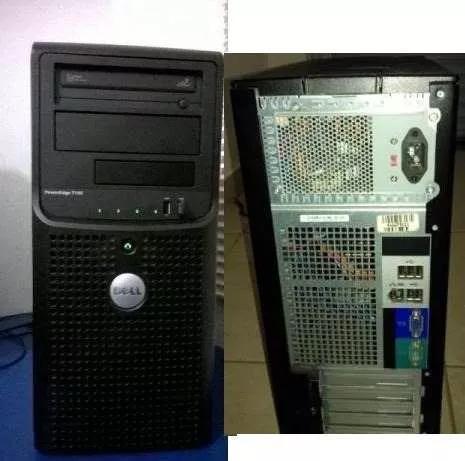 Servidor Dell,t105 Acompanha Placa Mãe, Gabinete Dissipador