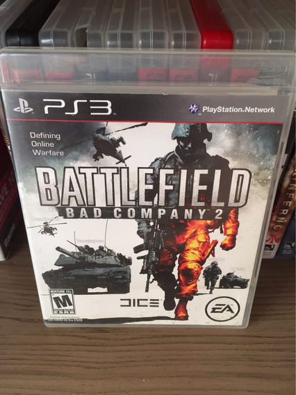Jogo Ps3 Battlefield Bad Company 2 Midia Fisica