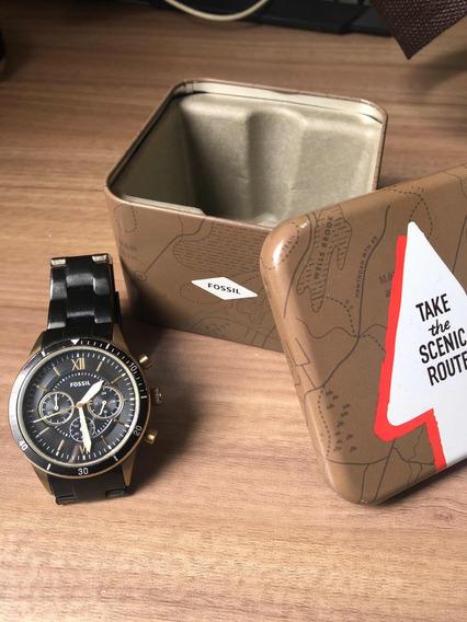 Relógio Fóssil Masculino_ Pouco Usado E Ótimo Preço