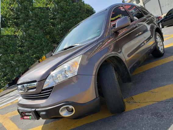 Honda Cr-v Lx 2.0 - Couro - Automática