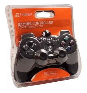 Joystick Ps2 Dualshock Gamepad Con Cable 3004 Noganet