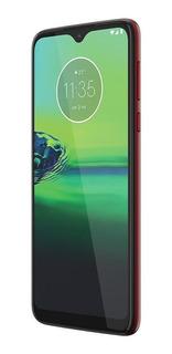 Motorola G8 Play 32gb Vermelho Câmera Tripla 13mp+8mp+2mp