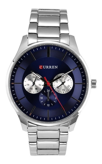 Reloj Moderno Uso Rudo Hombre Análogo Original Curren 8282