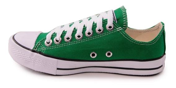 Tênis Converse All Star Cano Baixo Verde Bandeira
