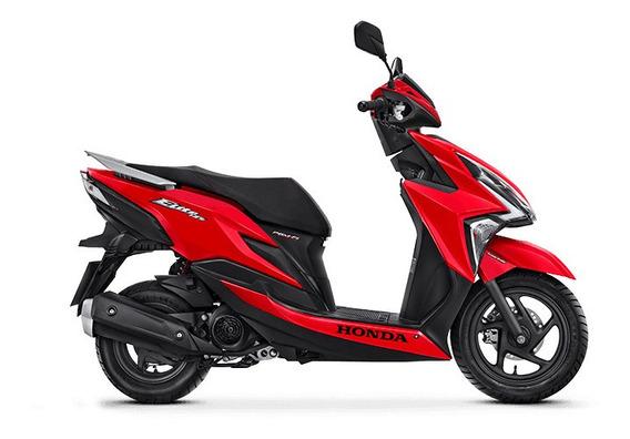 Honda Elite 125 - Vermelho Perolizado 0km Sem Entrada