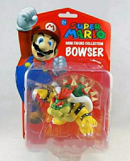 Bowser Blíster 10 Cm,figura De Acción 10 Cm