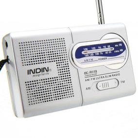 Rádio Receptor Indin Bc-r119 Am/fm Frete Grátis