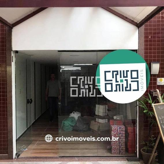 Loja Para Alugar, 60 M² Por R$ 2.000/mês - São Francisco - Niterói/rj - Lo0015