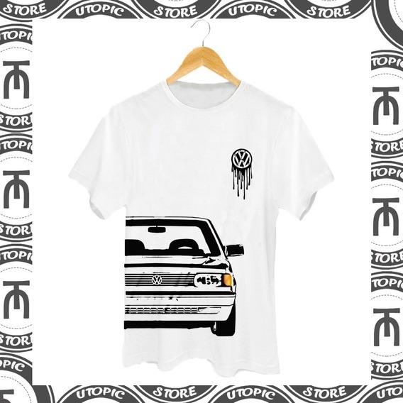 Camiseta Quadrados - Gol Quadrado - Clube Do Gol - Carros Baixos - Volkswagem