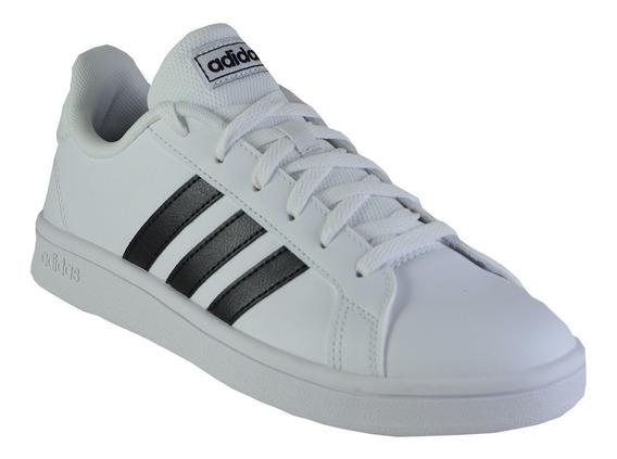 Zapatillas adidas Grand Court Base Hombre Wh/bl