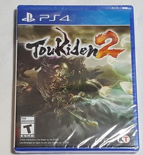 Imagen 1 de 2 de Toukiden 2 Ps4 Playstation Nuevo Sellado Oferta + Garantia