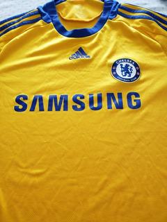 Camisa Futebol Chelsea Amarela Addidas