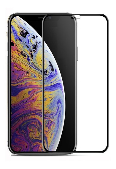 Mica Cristal Templado iPhone 7 8 7p 8 Plus X Xs Max Xr 10 5d