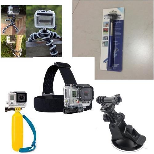 Kit. 5 Pçs Gopro - Cameras