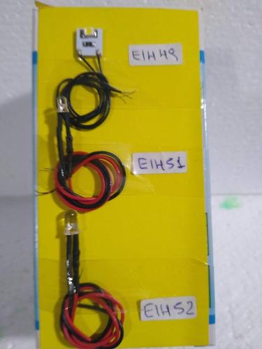 Imagen 1 de 5 de Nico 3 Leds , Resistencia Y Cable Todas Las Escalas (eih 49)