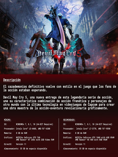 Devil May Cry 5 Pc - Steam Key