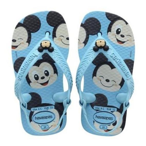 Havaianas Baby Menino Classic Mickey Original C/ Garantia