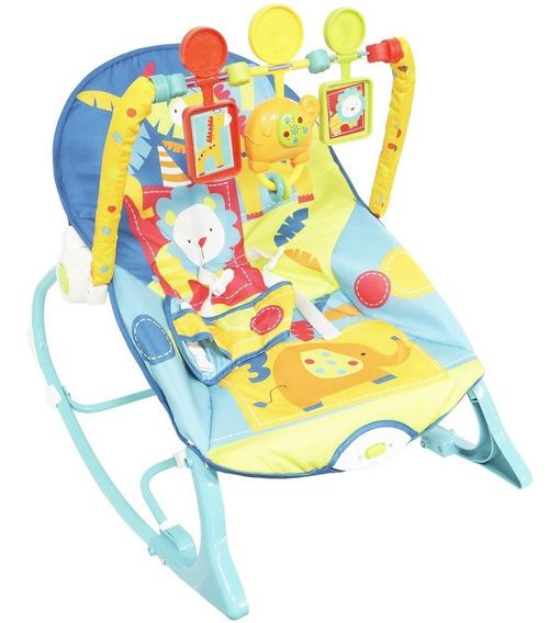 Cadeira Descanso Cadeirinha Bebê Musica Balanço Vibratória