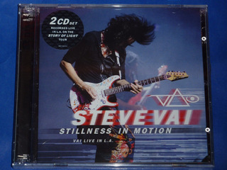 Steve Vai Stillness In Motion Live In L.a. 2cd´s