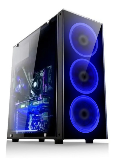 Pc Gamer Fácil Intel I3 9100 8gb Amd Radeon Rx 2gb Hd 1 Tb