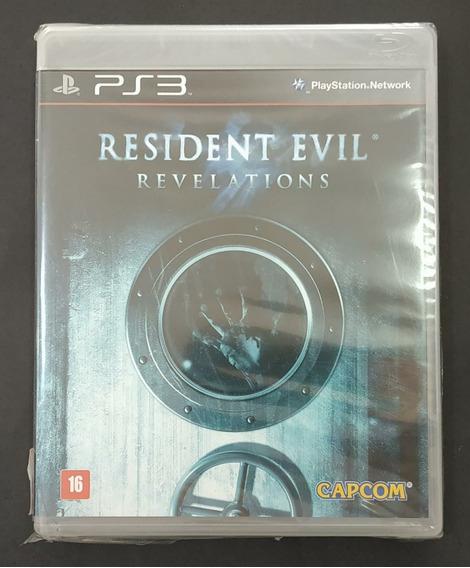 Resident Evil Revelations Playstation 3 Lacrado. Sony Ps3