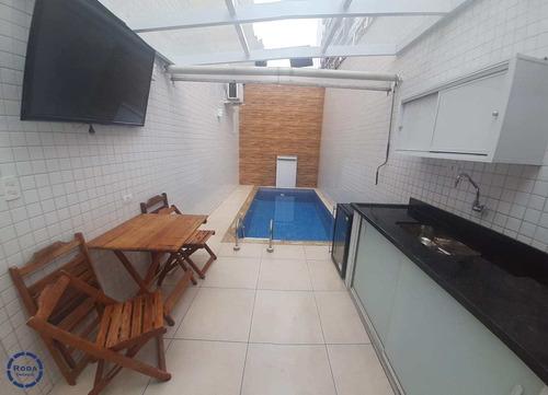 Imagem 1 de 30 de Casa Com 3 Dorms, Embaré, Santos - R$ 1.65 Mi, Cod: 19763 - V19763