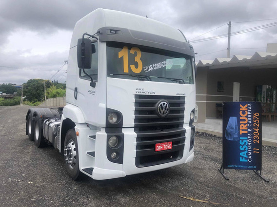 Vw 25390 6x2 Constellation Teto Alto Ano 2013 Completo