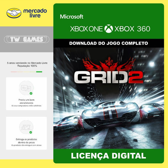 Grid 2 Digital Retrocompativel Xbox 360 Xbox One