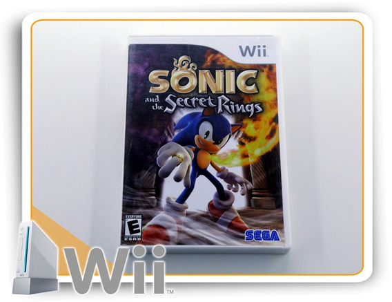 Sonic And The Secret Rings Original Nintendo Wii