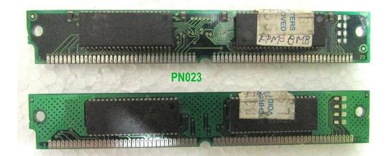 Memória Par Ram Simm 72 Vias 70ns Fpm (8 Mb Cada)16 Mb Total