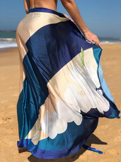 Pareo Saia , Saída De Praia Seda