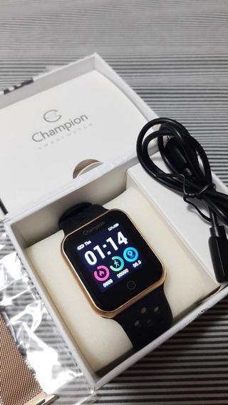 Smartwatch Champion E Pulseira Extra