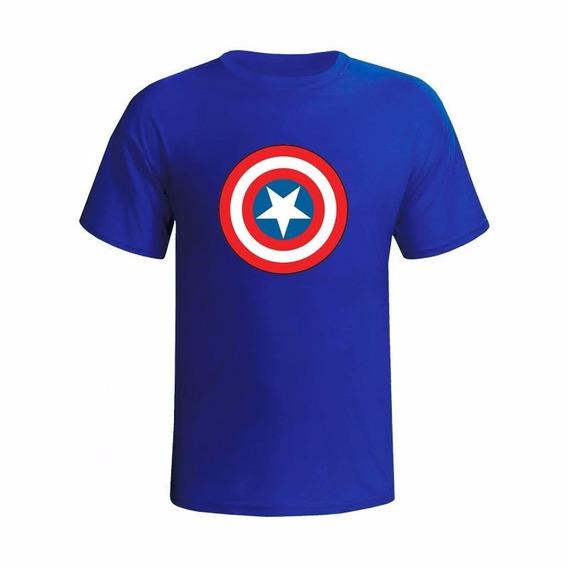 Camiseta Personalizada Capitão América