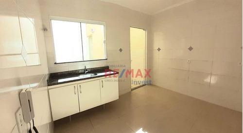 Imagem 1 de 9 de Sobrado Com 2 Dormitórios Para Alugar, 70 M² Por R$ 1.500,00/mês - Vila Assumpção - Botucatu/sp - So0096