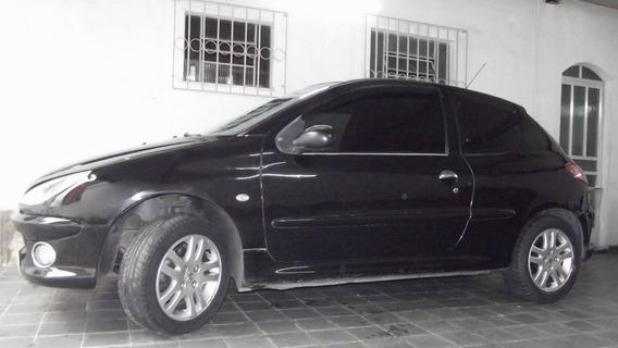 Peugeot 206 2007/2008 1.6 Flex+gnv Completo Procedência