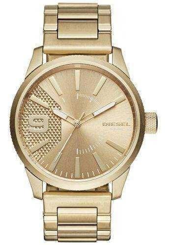 Relógio Diesel Dourado Masculino Dz1761/4dn