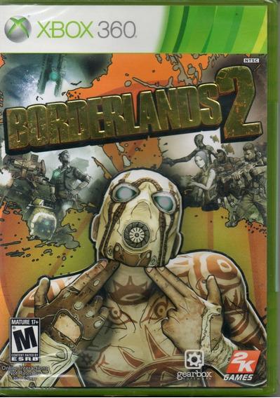 Jogo Borderlands 2 Xbox 360 Mídia Física/novo/lacrado