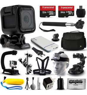 Gopro Hero Session Hd Action Camera (chdhs-102) + Ultimate 2