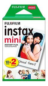 Filme P/ Instax Mini 9 8 7s 90 70 Pack Com 20 Fotos