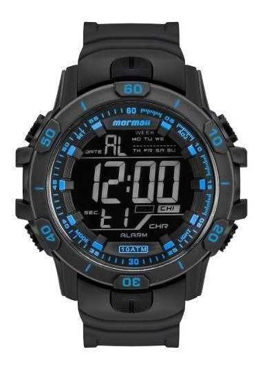 Relógio Masculino Mormaii Digital Mo3690ab/8a Mega Oferma