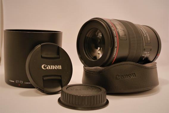 Lente Canon 100mm F/2.8 Macro (série L)
