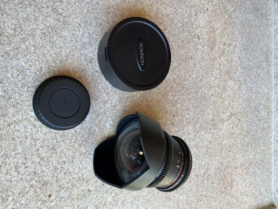 Lente Rokinon 14mm 3.1 Para Canon