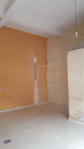 Salão Para Alugar, 42 M² Por R$ 1.700,00/mês - Vila Alto De Santo André - Santo André/sp - Sl0861