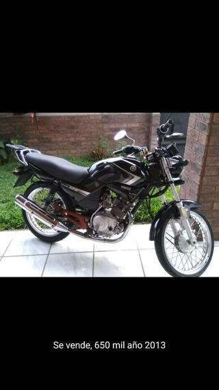 Yamaha Ybr, Negra